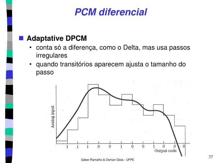 PCM diferencial