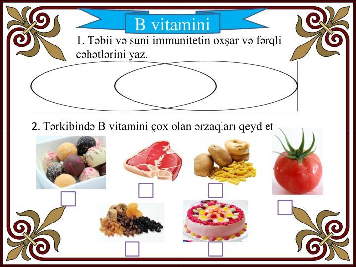 B vitamini