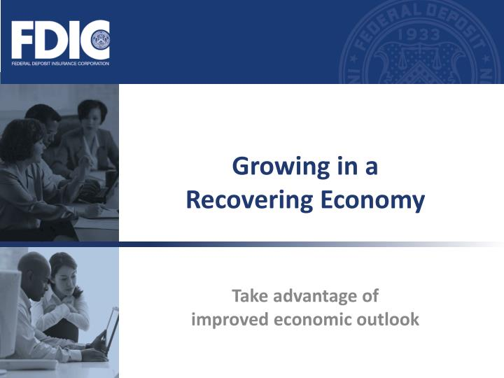 growing in a recovering economy n.