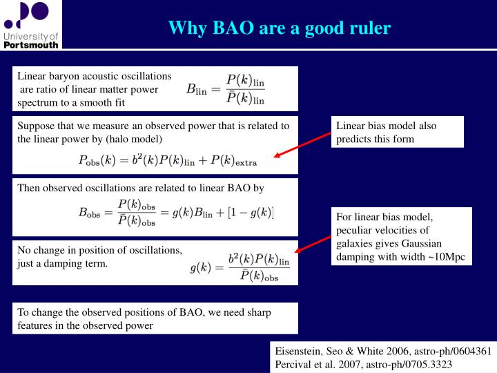 Why BAO are a good ruler