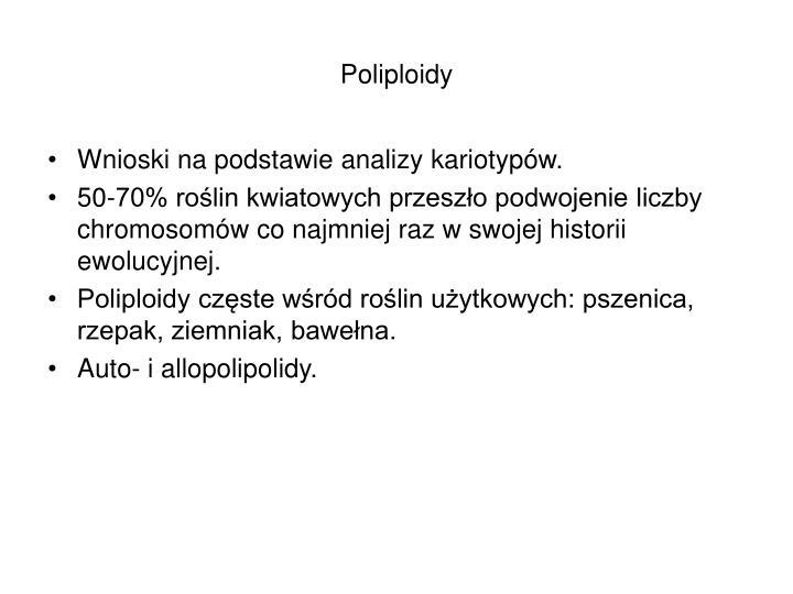 Poliploidy