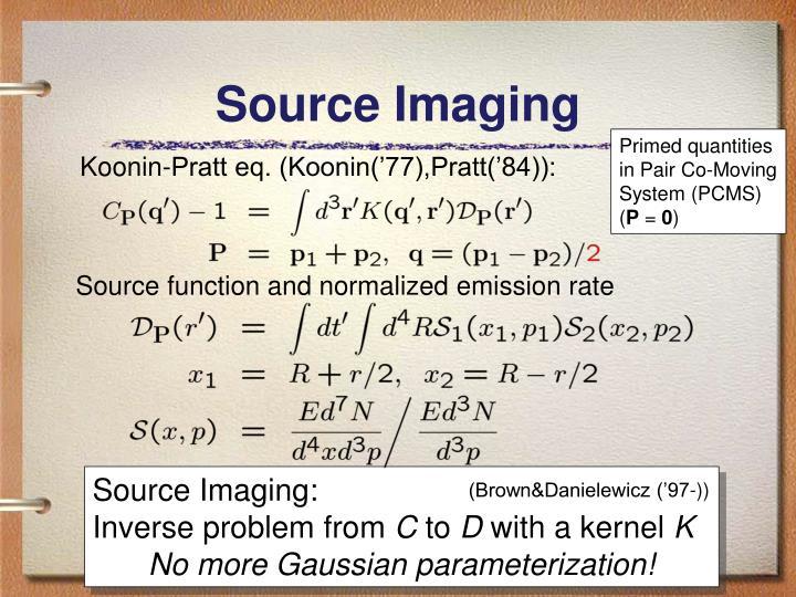 Source Imaging