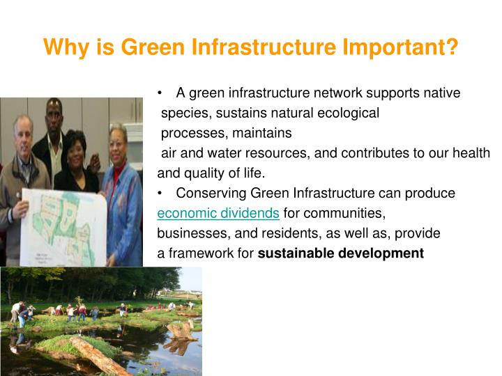 Why is Green Infrastructure Important?