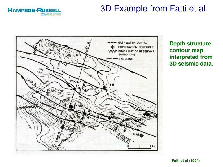 3D Example from Fatti et al.