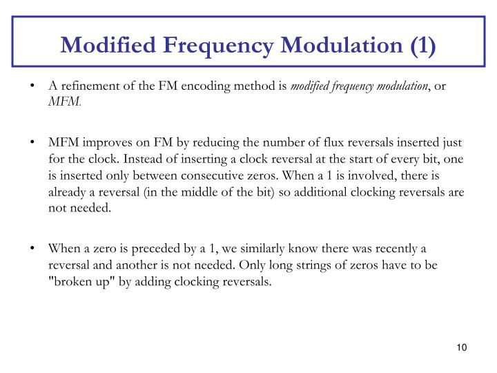 Modified Frequency Modulation (1)