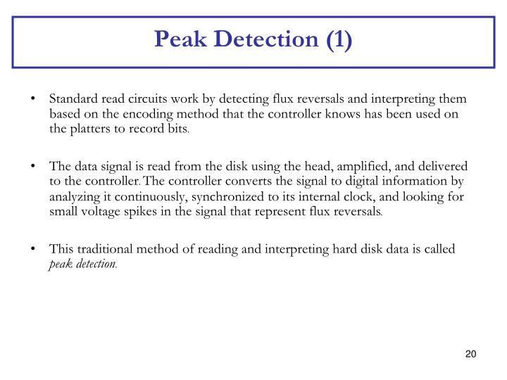 Peak Detection (1)