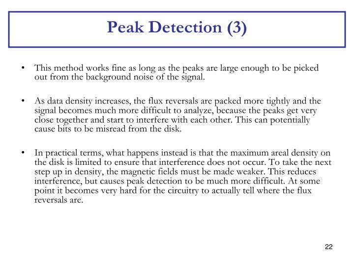 Peak Detection (3)