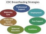 cdc breastfeeding strategies
