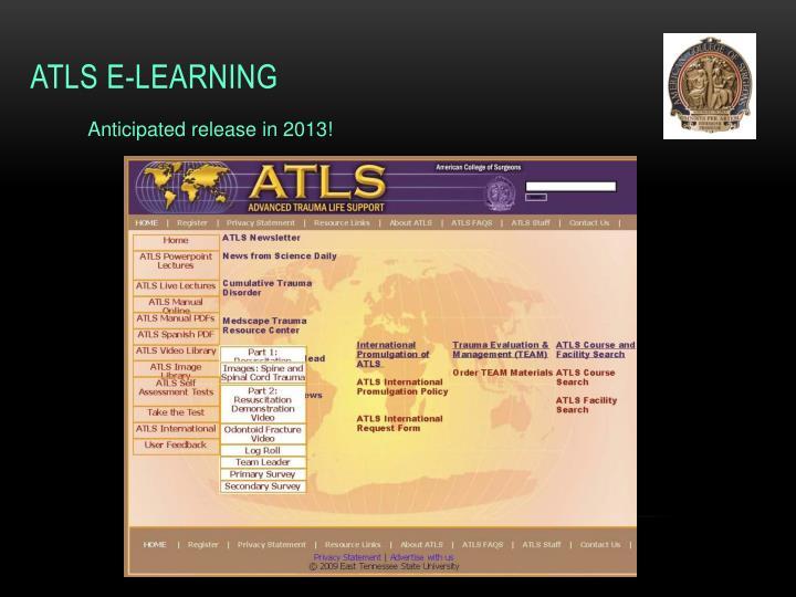 ATLS E-Learning