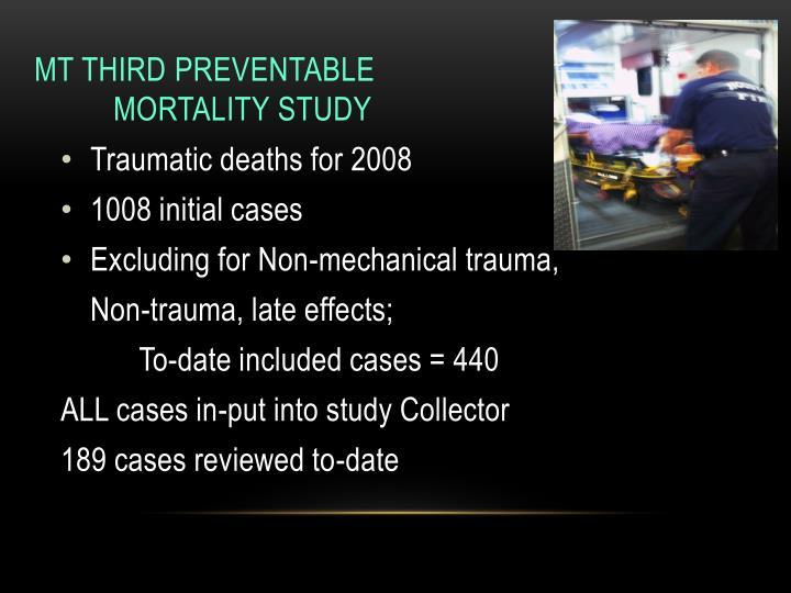 MT Third Preventable