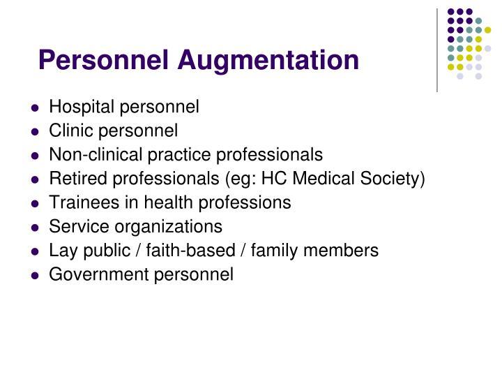 Personnel Augmentation