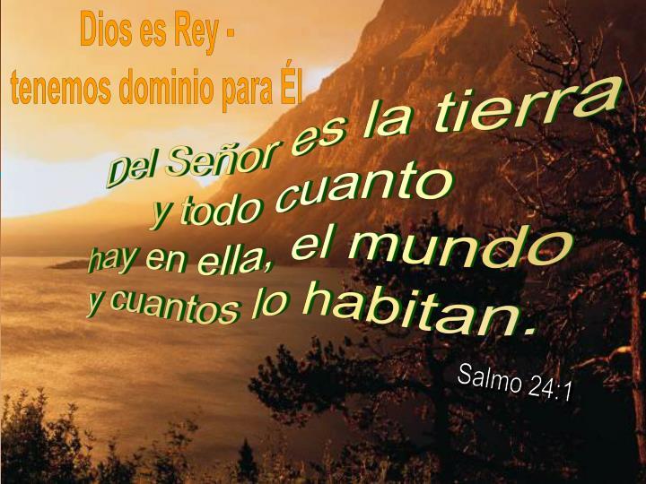 Dios es Rey -