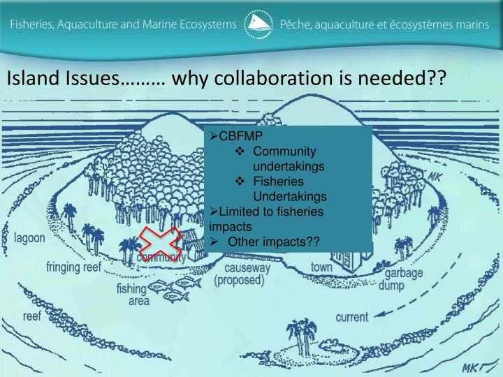 Island Issues……… why collaboration is needed??