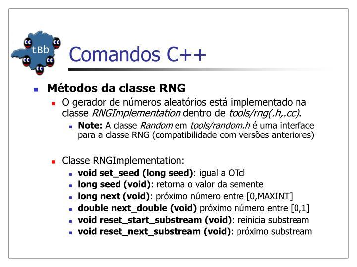 Comandos C++