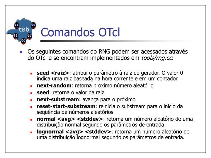 Comandos OTcl
