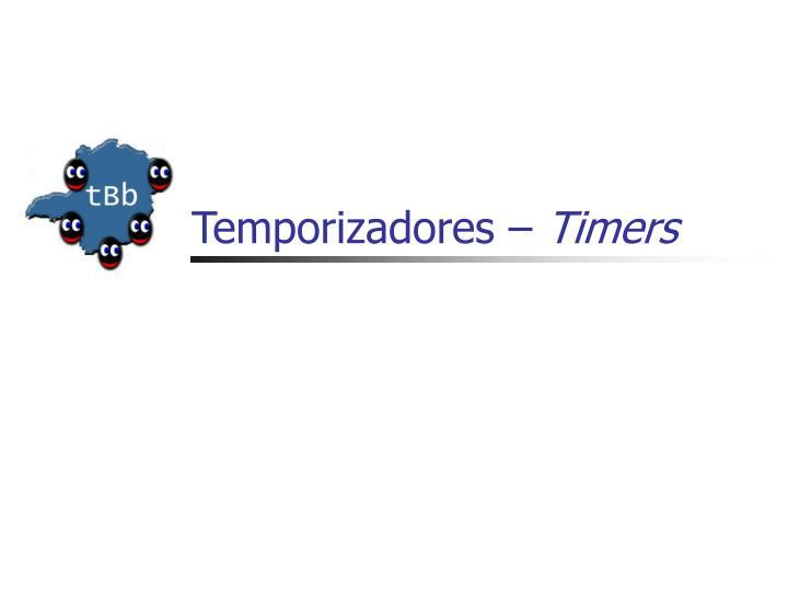 Temporizadores –