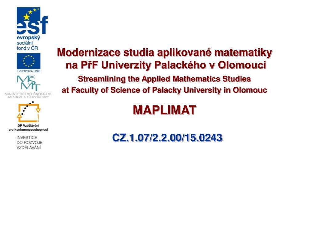 Matematik online datování