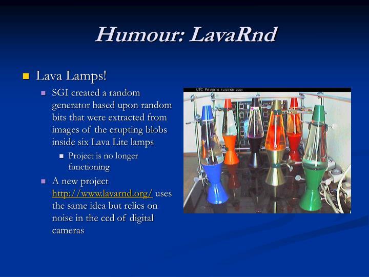 Lava Lamps!