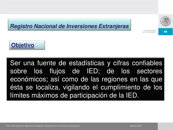 Registro Nacional de Inversiones Extranjeras