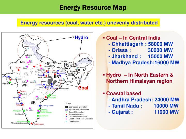 Energy Resource Map