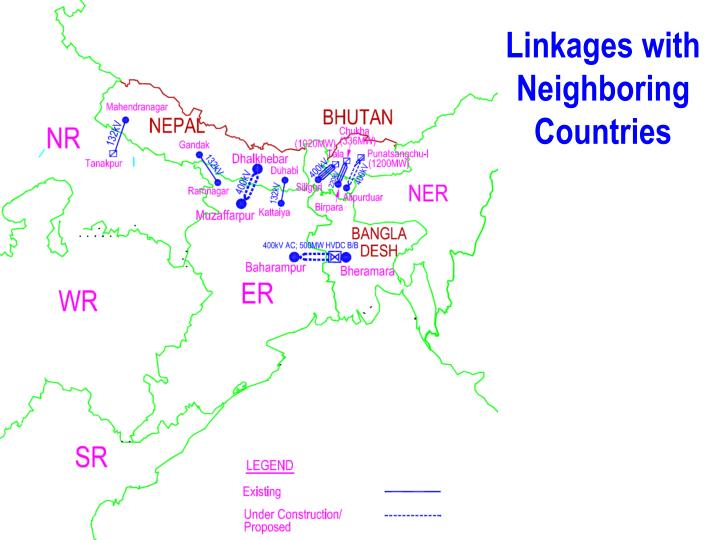 Linkages with Neighboring Countries