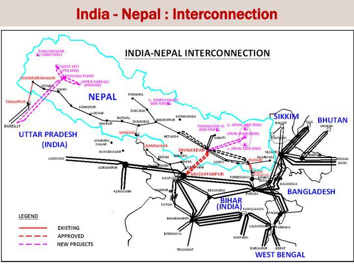 India - Nepal : Interconnection