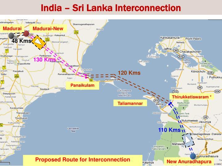 India – Sri Lanka Interconnection