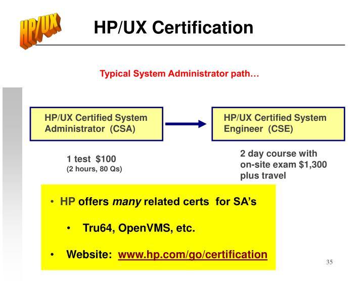 HP/UX