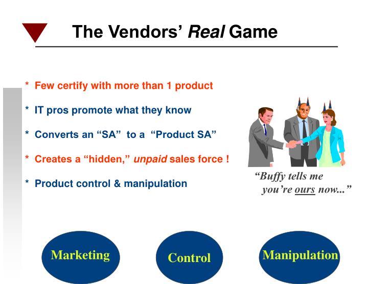 The Vendors'