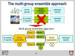 the multi group ensemble approach1