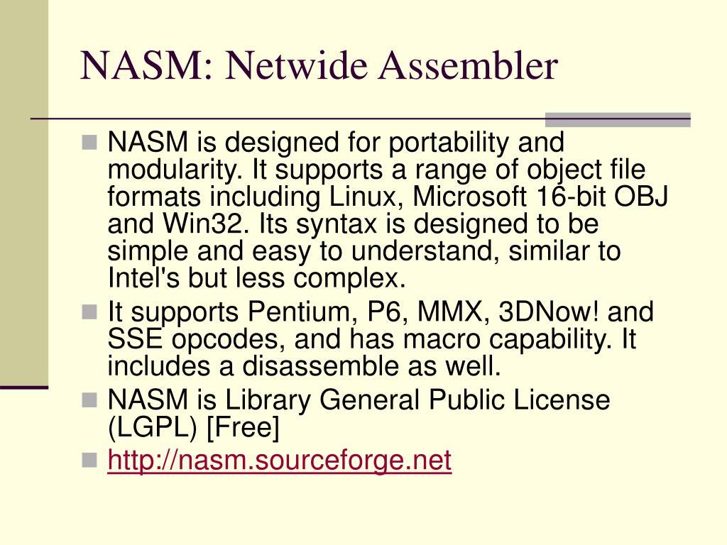 PPT - x86, Assembler PowerPoint Presentation - ID:4796205