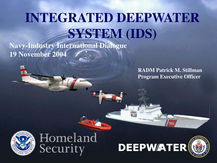 Integrated deepwater system ids
