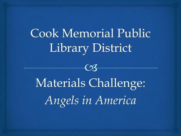 cook memorial public library district n.
