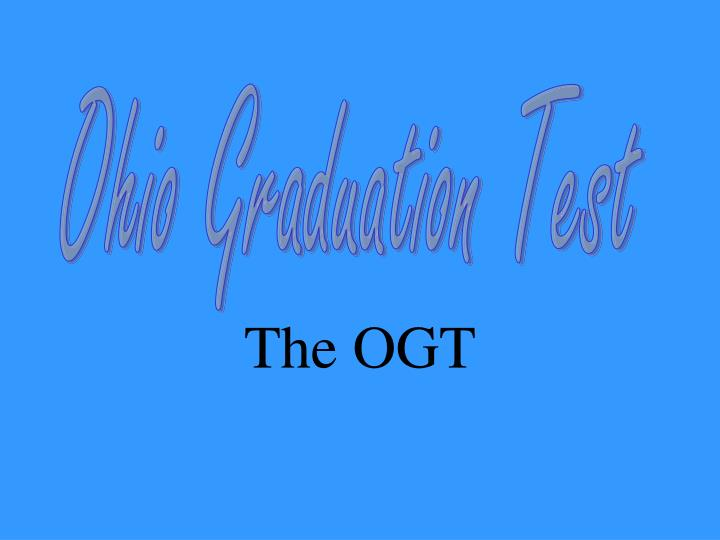 The ogt