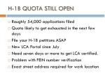 h 1b quota still open