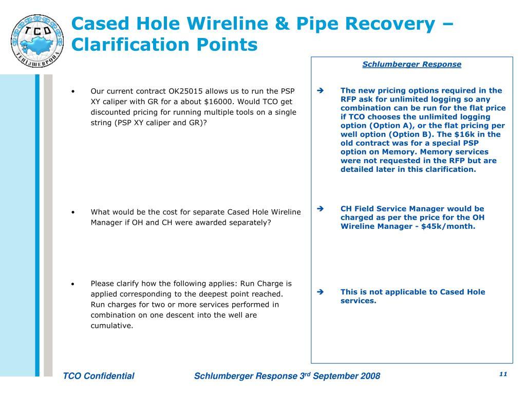 PPT - Tengizchevroil WCS RFP Clarifications PowerPoint