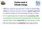 furthur work 4 climate change