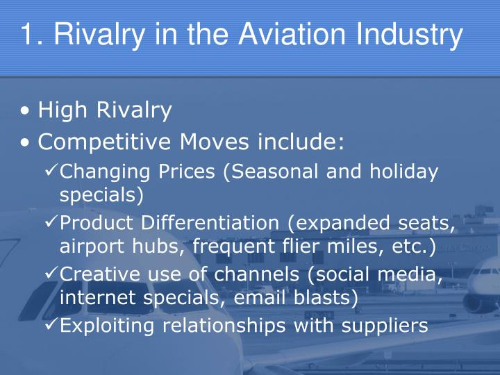 1. Rivalry in the Aviation Industry