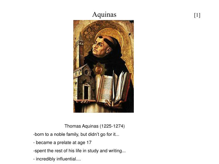 aquinas 3rd way The existence of god the third way is taken from possibility and necessity, and runs thus the summa theologiæ of st thomas aquinas.