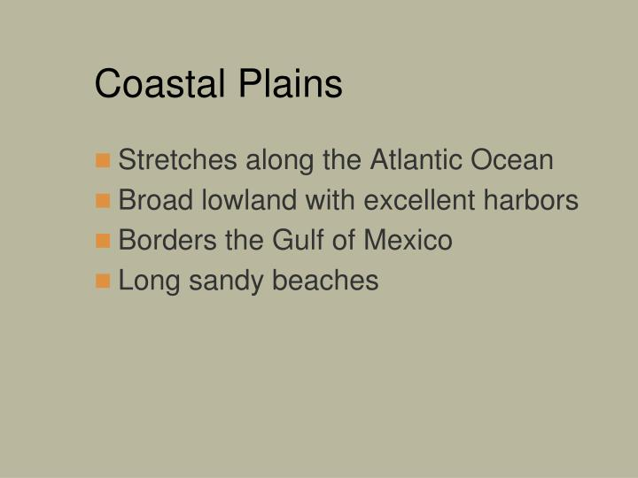 Coastal Plains