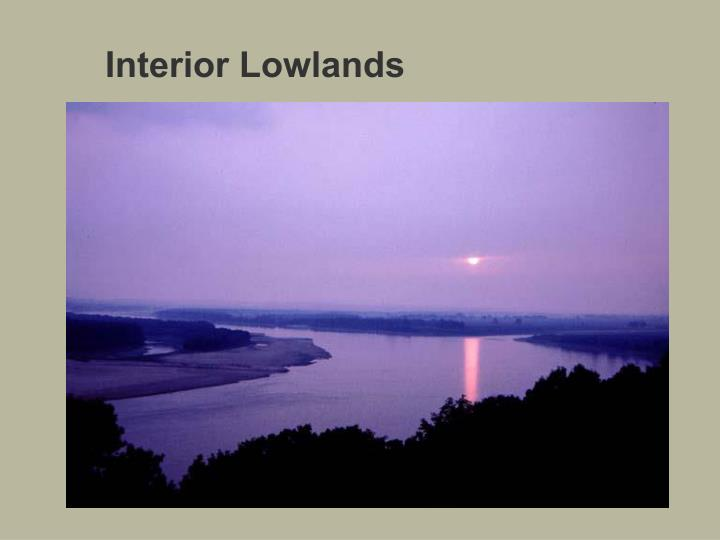 Interior Lowlands
