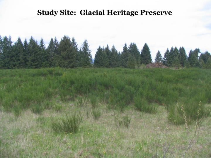 Study Site:  Glacial Heritage Preserve