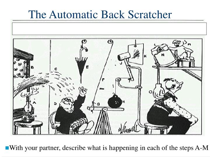 The Automatic Back Scratcher
