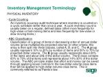 inventory management terminology1