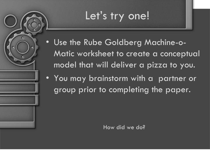 Ppt Rube Goldberg Project Powerpoint Presentation Id 4797551