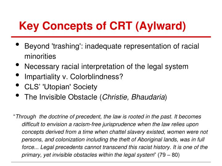 key concept of racism