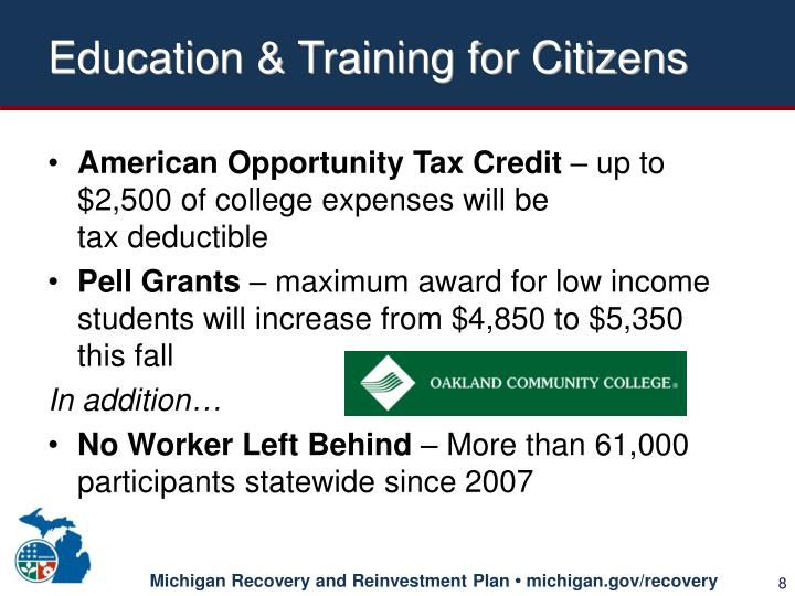 Education & Training for Citizens