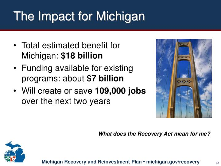 The Impact for Michigan