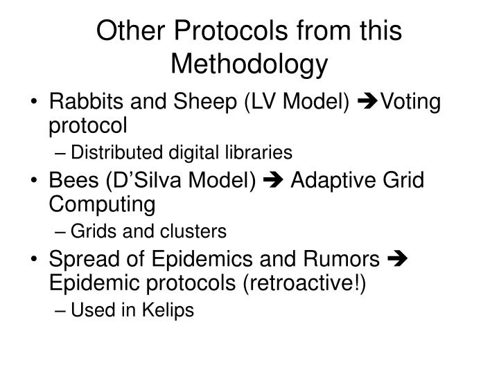 Other Protocols from this Methodology