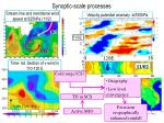 synoptic scale processes